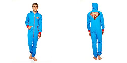 Superman Onesies For Adults (Groovy UK Ltd Men's Superman Onesie M)