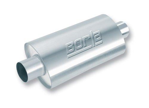 Borla 40575 XR-1 Oval Stainless Steel Multicore Racing Muffler