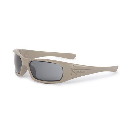 (ESS Sunglasses 5B Terrain Tan with Smoke Gray Universal Lens)