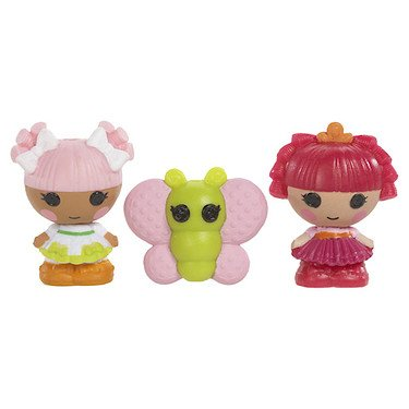 Burger King Outfit (Lalaloopsy Tinies Figures Series 2 (531654) 3 Pack)