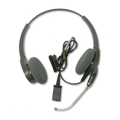 - Encore Binaural Yokeless Cable Headband Headset w/Clear Voice Tube