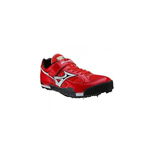 Mizuno - Zapatillas de atletismo de Material Sintético para hombre rojo rojo