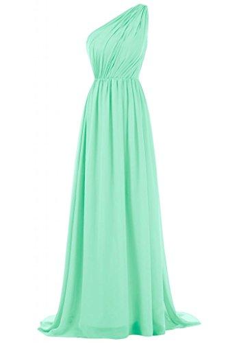 misura tracolla Verde sottoposta damigella sera Maxi da d'onore a donna per abito Graceful per Sunvary qAHTH