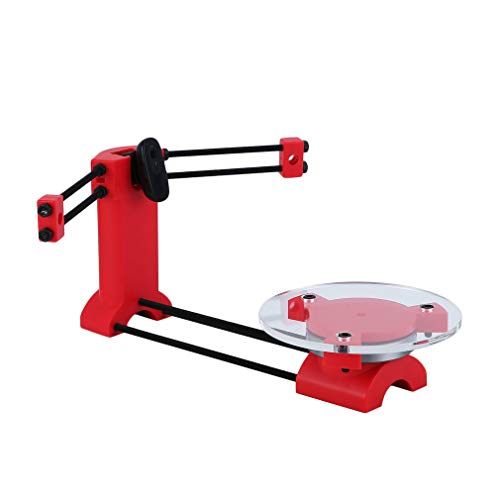 Homgrace Open Source Ciclop DIY 3D Systems Scanner Kit for Ciclop Printer Portable Advanced Laser Scanner Injection Molding Parts