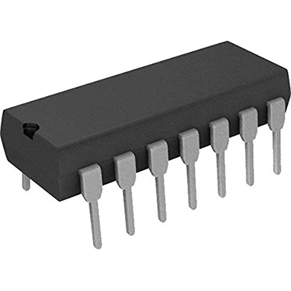 14 2pcs 2 x sn7451j and-or-Invert gates ti cdip
