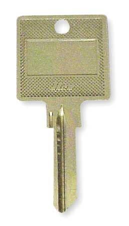 Key Blank, Type Hotel, Pins 6, PK100