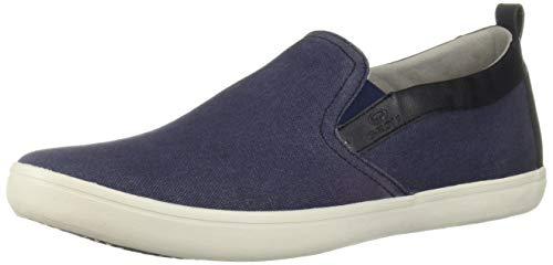 Geox Men's Halver 6 Slip-on Sneaker, Navy 45 Medium EU (12 US)
