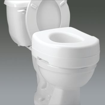 Carex Raised Toilet Seat by S