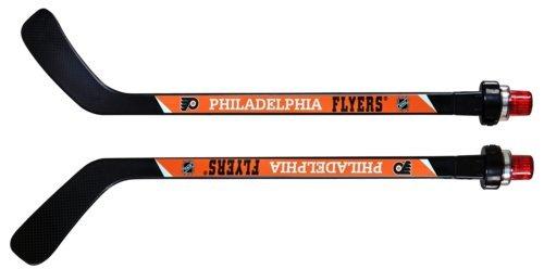 NHL Philadelphia Flyers Goal Light Stick (Righty), Medium, Black