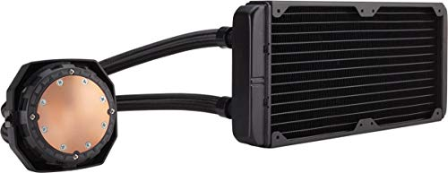 Large Product Image of CORSAIR Hydro Series H100i v2 AIO Liquid CPU Cooler, 240mm Radiator, Dual 120mm PWM Fans, Advanced RGB Lighting and Fan Software Control