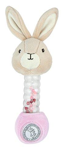 Rabbit Plush Rattle - Beatrix Potter, Flopsy Stick Rattle Plush