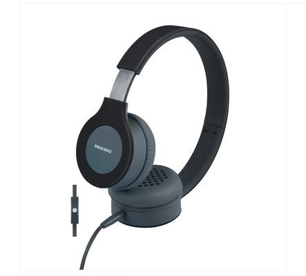 Urban Beatz Flux Headphone with Mic - Black