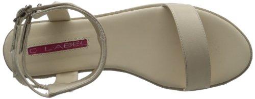4 Gilda Des C forme Sandale Plate Femmes Nue Étiquette 7g67xIwqp