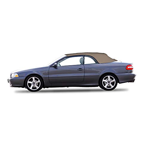 Volvo C70 Convertible Top and Heated Glass Window for 1999-2006 Stayfast (Tan) (Window Convertible Quarter)
