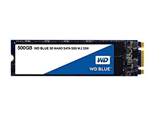 WD Blue 3D NAND 500GB Internal PC SSD - SATA III 6 Gb/s, M.2 2280, Up to 560 MB/s - WDS500G2B0B (B073SBX6TY) | Amazon price tracker / tracking, Amazon price history charts, Amazon price watches, Amazon price drop alerts