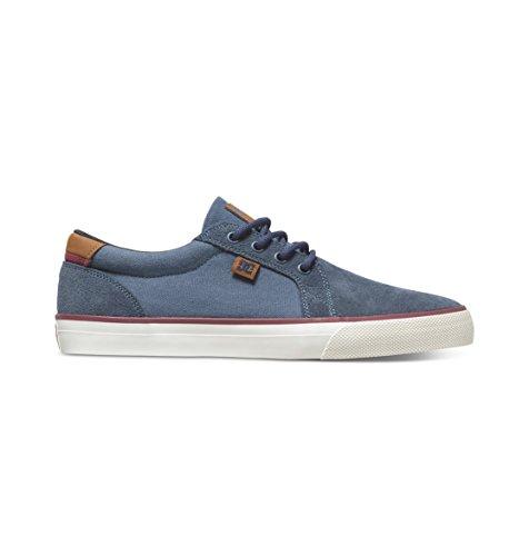 Council Low S 320174 Blue Uomo nbsp;scarpe Dc nbsp;– Skate top Shoes Per Dark Ybfg76yv