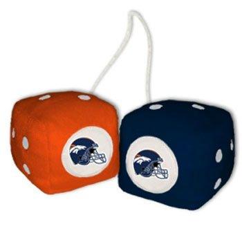 Read About NFL Denver Broncos Fuzzy Dice
