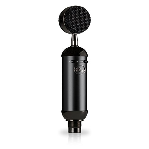 Blue Spark Blackout SL XLR Condenser Mic for Pro Recording and Streaming (137
