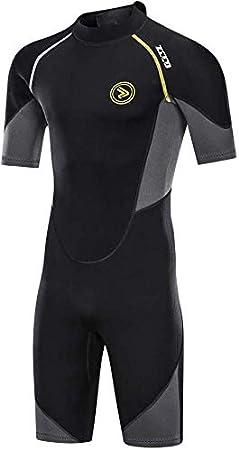 para pesca submarina pirag/üismo con cremallera trasera de 1,5 mm y 3 mm surf Traje de neopreno para hombre trajes de buceo buceo ZCCO