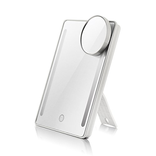 House Lighted Travel Makeup Mirror product image