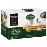 Green Mountain, Coffee Decaf Breakfast Blend, 4.02oz 12 coun