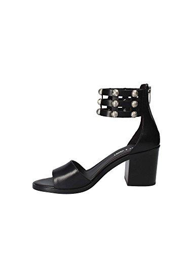 Janet 41404 Sandalen mit Absatz Frauen Schwarz