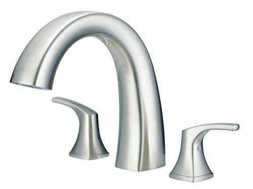 DANZE D300918BNT Tub Trim Kit with out Spray, Brushed Nickel