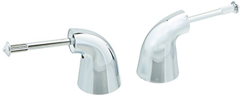 Delta Innovations Handle Lever (Delta Faucet H24 Innovations, Two Metal Lever Handle Kit, Chrome)