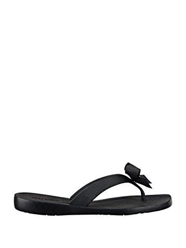 GUESS Women's Tutu Sandal,Black,8 M US