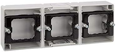Simon 4400765-035 - Base Caja Estanca 3 Elementos Horizontal ...