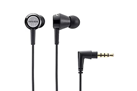 IRIVER AT1000 Dynamic Driver In-Ear Headphones - Black (Iriver Astell&kern Ak240)