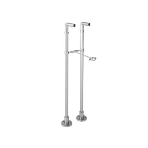 Rohl ZA383-APC 34-7/8-Inch Length Cisal Pair of Floor Pillar Legs for Exposed Tub Filler Mixers Ac7X A1401 and A1901 in Polished ()