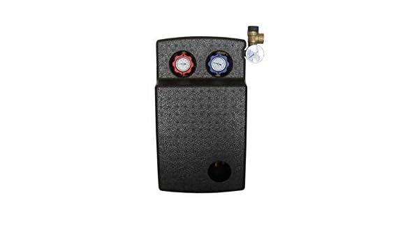 Dark Blue B/üro und Zuhause. Fanzhou Handventilator Elektrischer Mini L/üfter Tragbarer USB Ventilator mit eine Aromatherapie-Box 3 Geschwindigkeiten einstellbar f/ür Reisen