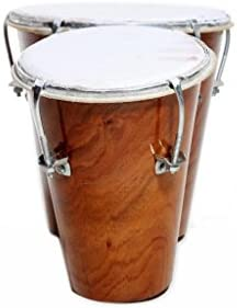 Musical Mart MMBG-L-03Two PieceBongo Drum(Brown)