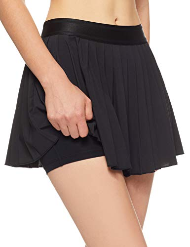 NIKE Women's Court Victory Tennis Skirt (Black/Black / Black, X-Small) by NIKE (Image #3)