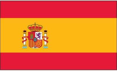 Tiendas Online, Inc. España 2 ftx3ft Nylon bandera con poste ...