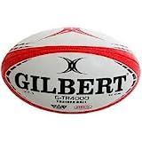 Gilbert(ギルバート) Trainer Ball トレーニング ラグビーボール 赤×黒 5号 G-TR4000 [並行輸入品]