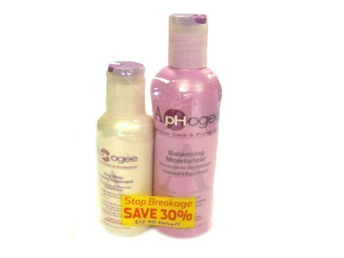 Aphogee Balancing Moisturizer & Two-Step Protein Treatment B00852XSZE