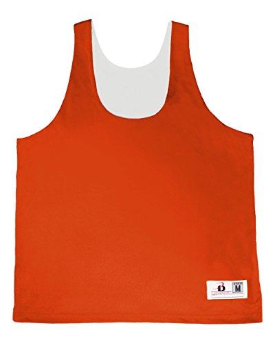 Badger Sport Orange Ladies S/M Reversible Jersey Moisture Wicking Racerback Tank Sports Top ()