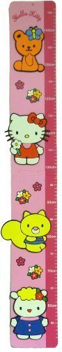 hello kitty height chart - 1