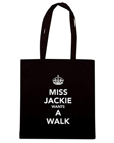 AND WANTS Borsa MISS KEEP WALK JACKIE Nera CALM TKC0591 A Shopper CCwTqFX