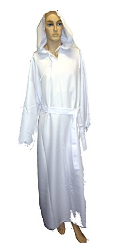 1401 (Large, White) Monk's Robe Adult ()