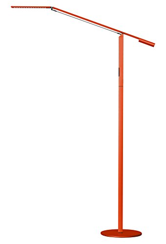 Koncept ELX-A-C-ORG-FLR Equo LED Floor Lamp, Cool Light, Orange