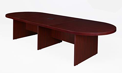 Mahogany Modular Conference Table - Regency LCTRT14452RW Legacy Confrence Table, 144-inch, Redwood