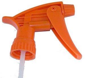 Chemical Resistant Sprayer c Orange (Bleach Spray Bottle)