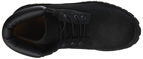 Classici Nero 6 Unisex Timberland Premium Stivali In Impermeabili Nero Bambini nubuck Ha8wqFS