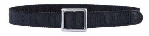 (Black Velcro Adjustable Kids Belt (Age 6/8 - Waist up to 29