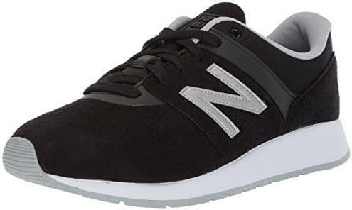 New Balance Boys' 24v1 Sneaker, Black