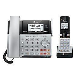 att-tl86103-dect-60-connect-to-cell-2-line-answering-system-with-caller-id-call-waiting-1-corded-1-c