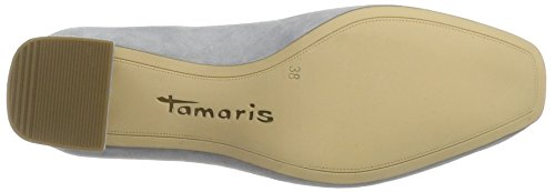Tamaris Damen 24404 Pumps Grau (STEEL 211)